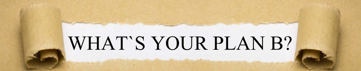"Six Tips to Help You Formulate A Career ""Plan B"""